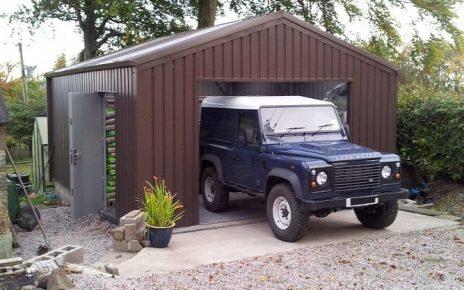 RangeRoverShed 667x500 464x290 - Metal vs Wood Garages